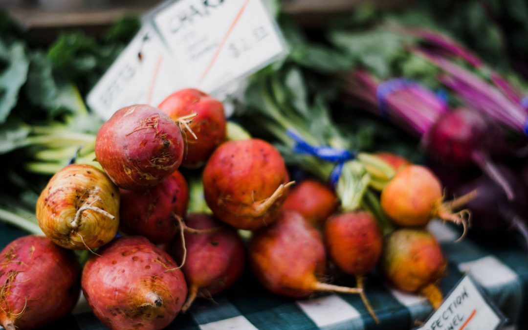 Golden Roasted Beets