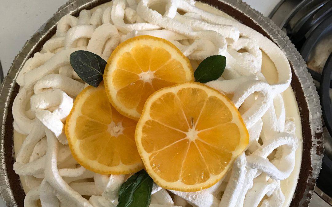 Meyer Lemons and Meyer Lemon Pie