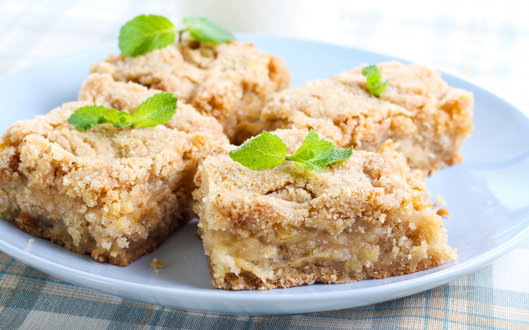 Apple Crisp Shortbread