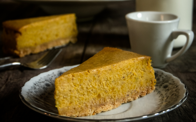 Almost Famous Pumpkin Cheesecake