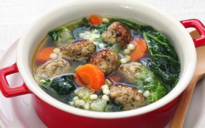 Italian Wedding Meatball Soup