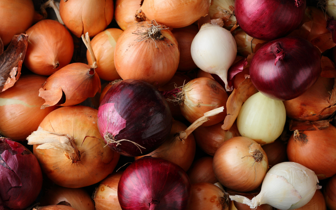 Potato and Mushroom Stuffed Onions